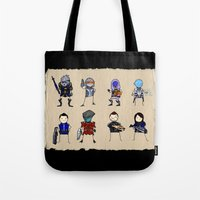 Mass Effect 3 Normandy Crew Tote Bag