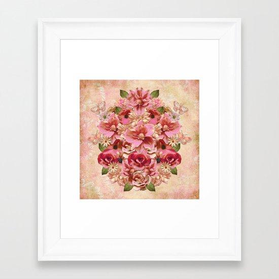 Daybreak Flourish Framed Art Print