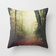 Forest Of Miracles And W… Throw Pillow