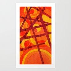 Sorting Art Print