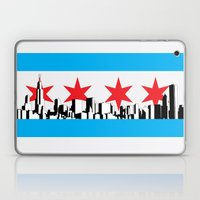 New Chicago Flag Laptop & iPad Skin