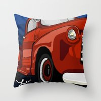 Chevy Me Up  Throw Pillow
