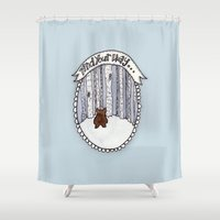 Find Your Way Shower Curtain
