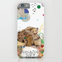 iPhone & iPod Case featuring I Would Be by Jo Cheung Illustration