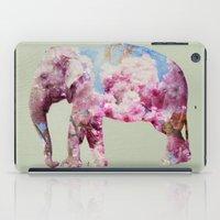 Cherry blossom Elephant iPad Case