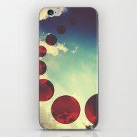 Travel the Skies iPhone & iPod Skin