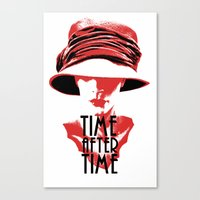 Time After Time Rouge Canvas Print
