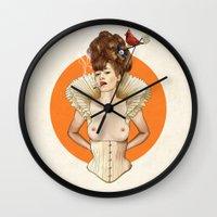 Miss Virginia Wall Clock