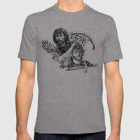 The Celts Mens Fitted Tee Tri-Grey SMALL