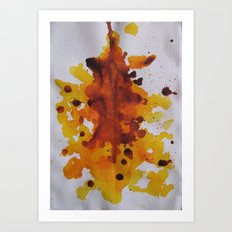 Ink Blot  Art Print