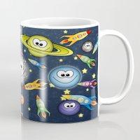 Solar Spaced Out. Mug
