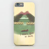 iPhone & iPod Case featuring I Don't Give A Dam by Darkwing Vak
