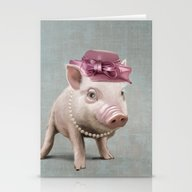 Miss Piggy Stationery Cards