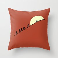 May We Meet Again Throw Pillow