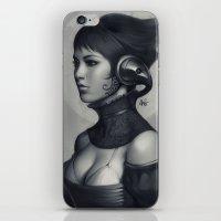 Pepper Grayscale II iPhone & iPod Skin