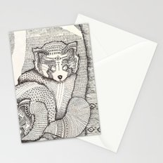 red pandas Stationery Cards
