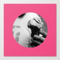 Pink Gelato Canvas Print