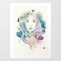 Aoki Art Print