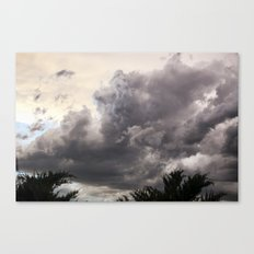 Stormy Sky Canvas Print