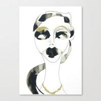 a bystander Canvas Print