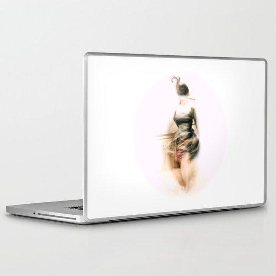 Lady Paris Laptop & iPad Skin