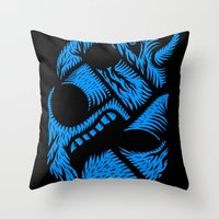 Le mangeur - the print! Throw Pillow