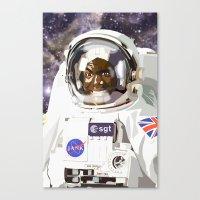 A trip to Planet X Canvas Print
