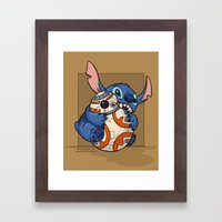 Chew Toy Framed Art Print