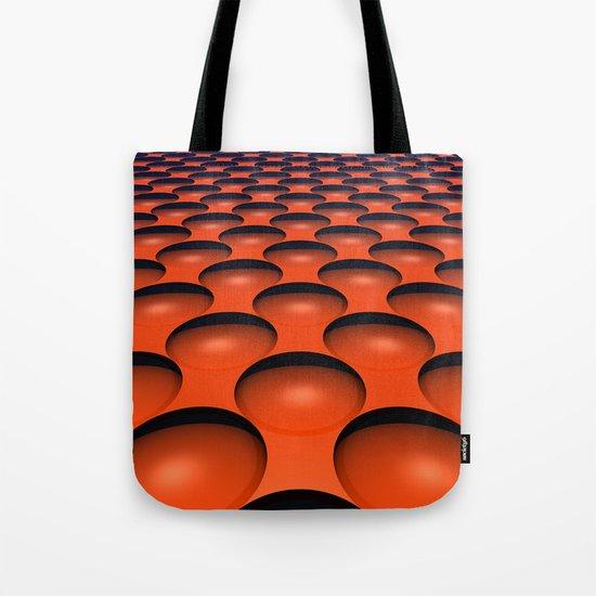 Orange Dimples Tote Bag