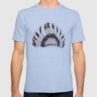 Headdress Mens Fitted Tee Athletic Blue SMALL