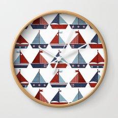 My Little Sail Boat. Wall Clock