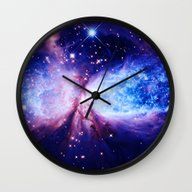 Wall Clock featuring A Star Is Born by 2sweet4words Designs