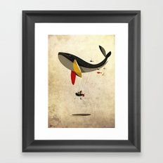 I believe i can fly Framed Art Print