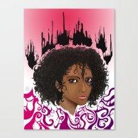 Furia. Canvas Print