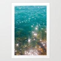So Much Water Art Print