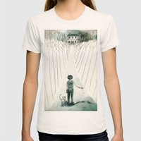 so lonely and so lost... Womens Fitted Tee Natural SMALL