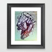 Organ Nic Framed Art Print