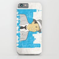 iPhone & iPod Case featuring These Litte Town Blues by senioritis