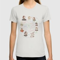 Fellowship Relationship … Womens Fitted Tee Silver SMALL