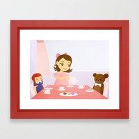 Tea Party Framed Art Print