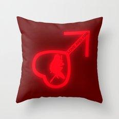 Sailor Mars Throw Pillow