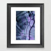 RIPPLE Framed Art Print
