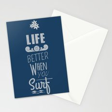 Surf a Better Life Stationery Cards