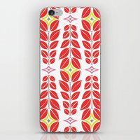 Cortlan | Cherry Red iPhone & iPod Skin