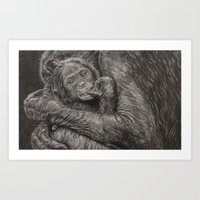 I Protect You Art Print