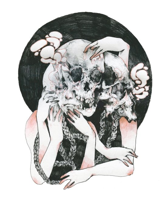 Dream About Your Ghost Art Print