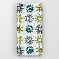 Spiro Petals iPhone & iPod Skin