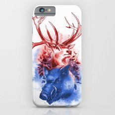 Red Stag and Blue Boar Slim Case iPhone 6s