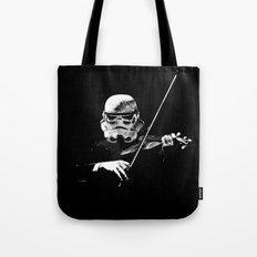Dark Violinist Warrior Tote Bag