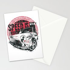 Speed is what I need Stationery Cards